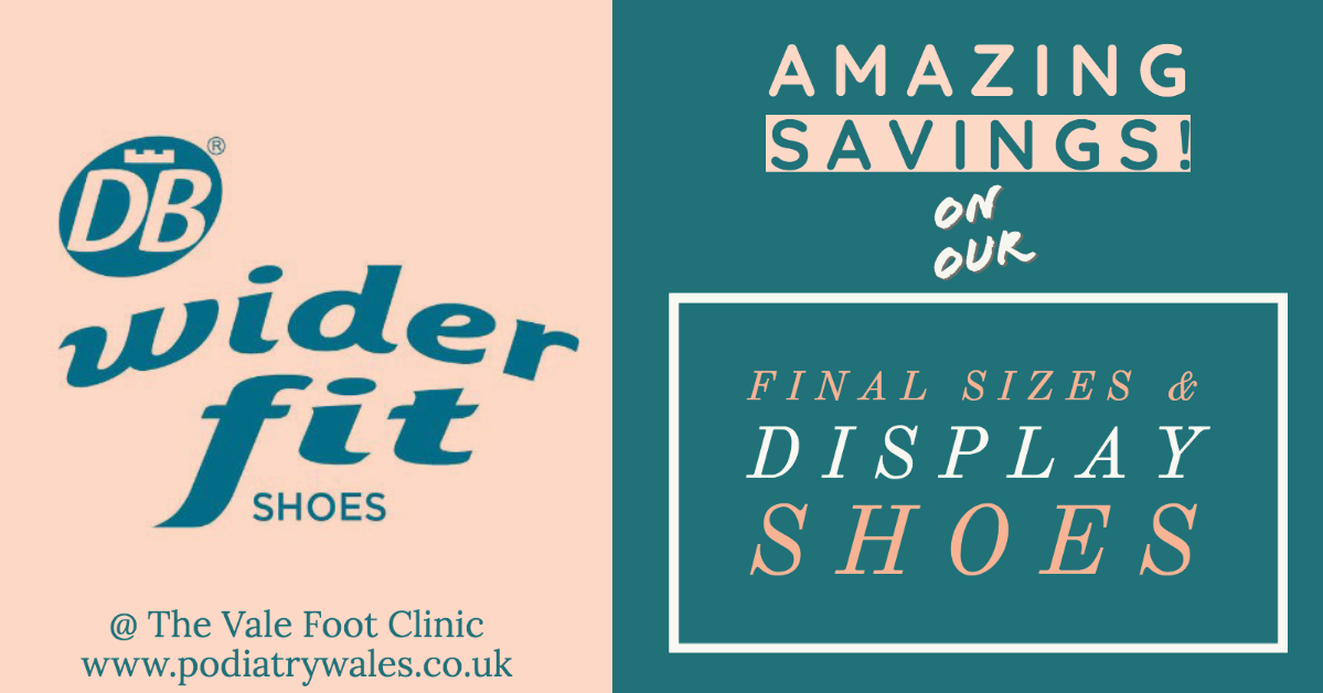 Amazing savings on our DB Wider Fit Shoes (last in line and display stock – Reserve your purchase today!)