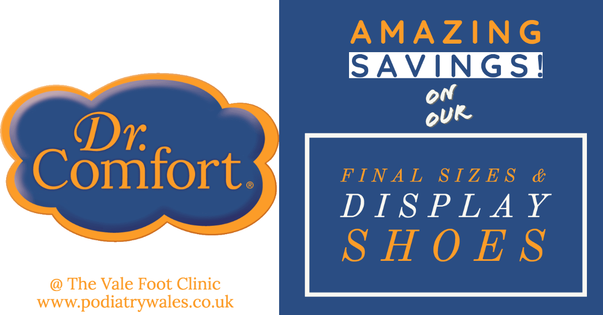 Amazing Savings on our Dr Comfort Shoes – last in line & display stock (reserve your purchase today)