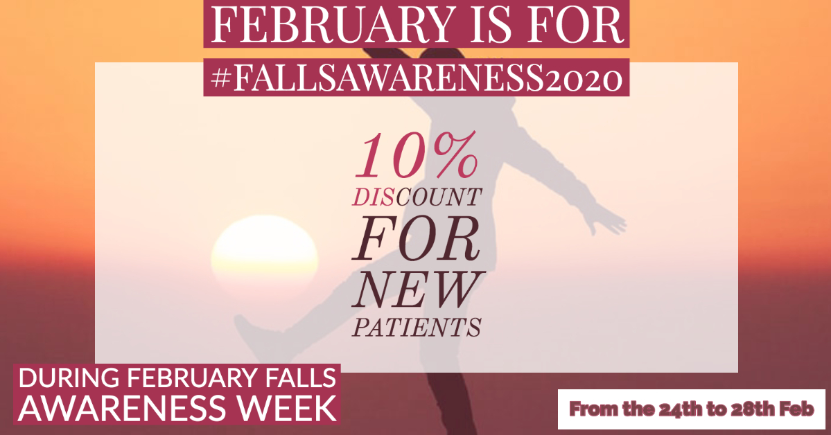February is Falls Awareness Month
