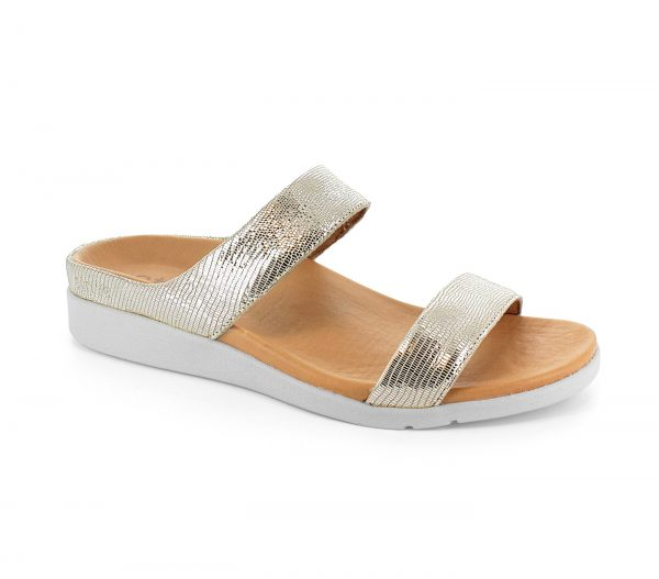 Strive Sandals - Faro Silver Glamour