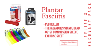 Plantar Fasciitis Relief & Recovery pack