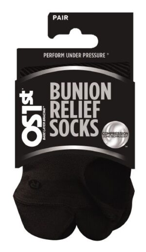 OS1st Bunion Relief Socks (Black)